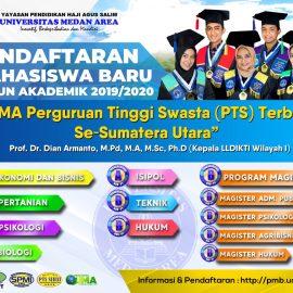 Universitas Medan Area Membuka Pendaftaran Mahasiswa Baru