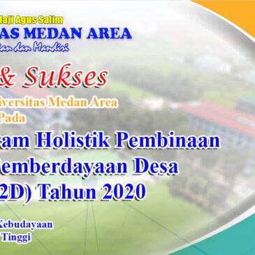 Selamat Kepada Mahasiswa Universitas Medan Area Lolos PHP2D Tahun 2020