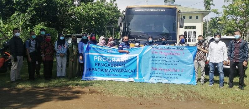 Tim UMA Lakukan Penandatanganan MoU Serta Pengabdian Kepada Masyarakat di Desa Deli Tua dan Desa Namo Mbelin, Kec. Namorambe