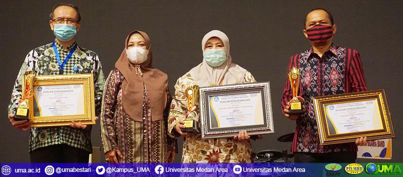 Universitas Medan Area Meraih Penghargaan Dari LLDIKTI Wilayah I SUMUT