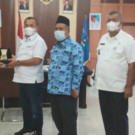 Audiensi Tim Universitas Medan Area ke Kantor Wali Kota Sibolga