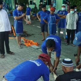 Universitas Medan Area Sembelih 28 Hewan Qurban Pada Perayaan Idul Adha